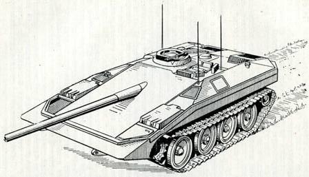 Рис. 122. Танк «S» («Шюдад»)