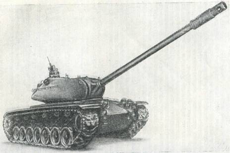 Рис. 14. Тяжелый танк М103