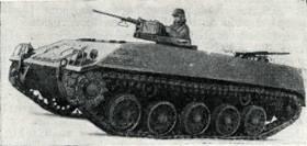 Рис. 155. Бронетранспортер для перевозки пехоты 4К2Р