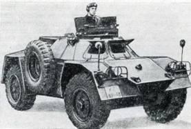 Разведывательный бронеавтомобиль YP-104.