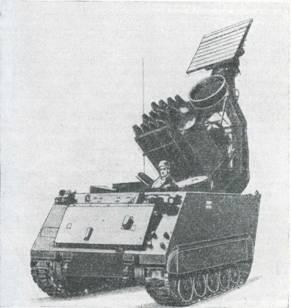 Рис. 31. Шасси ХМ546 с ПТУРС «Молер»