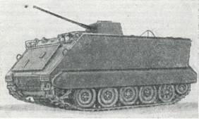 Рис. 35. Бронетранспортер М113, вооруженный 20-мм пушкой HS820
