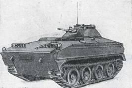 Рис. 37. Бронетранспортер M114 с закрытой вращающейся башней