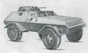 Рис. 39. Новый бронеавтомобиль