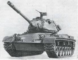 Рис. 4. Средний танк М47 «Паттон» II