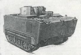 Рис. 44, Плавающий танк LVTHX4
