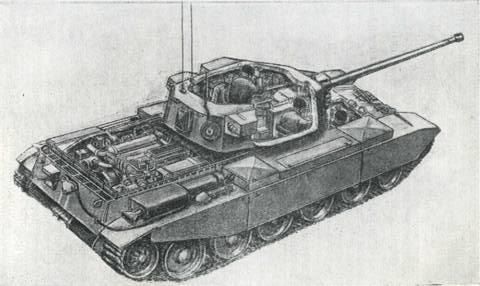 Рис. 51. Танк «Центурион» МкIII