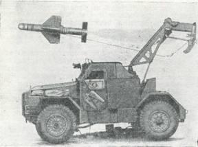 Рис. 64. Бронетранспортер «Хамбер» с ПТУРС «Малкара»