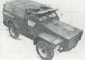 Рис. 69. Грузовой бронетранспортер многоцелевого назначения на базе автомобиля «Хамбер»