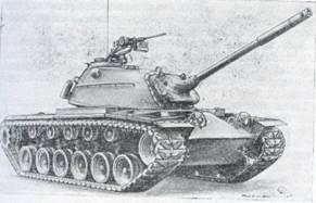 Рис. 7. Средний танк М48 «Паттон» III