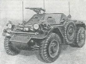 Рис, 70. Бронеавтомобиль «Феррет» МкI