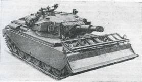Рис. 74. Саперный танк на базе танка «Центурион»