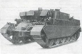 Рис. 75. Ремонтно-эвакуационная машина на базе танка «Центурион»