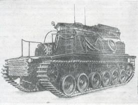 Рис 76. Береговая ремонтно-эвакуационная машина «BARV»