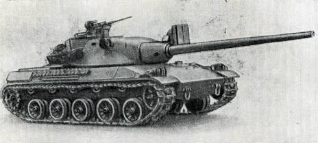 Рис. 79. Средний танк АМХ-63