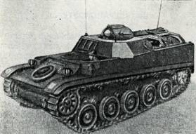 Рис. 92. Бронетранспортер для перевозки пехоты АМХ VTT-56