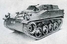 Рис. 94. Бронетранспортер «Гочкис» ТТ6-55 для перевозки пехоты