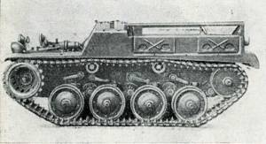Рис. 95. Бронетранспортер «Гочкис» СС2-55 для перевозки грузов