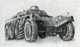 Рис. 96. Бронетранспортер EBR-ETT для перевозки пехоты на базе бронеавтомобиля «Панар»