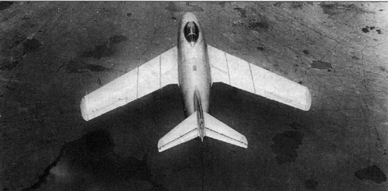 Второй опытный экземпляр истребителя МиГ-15 (С-2, С-02) с двигателем «Нин-II» №1039 серии 1 -5.