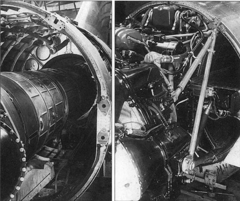 Установка двигателя «Нин-1» №1036 на самолете МиГ-15 (С-1).