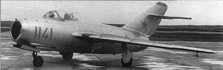 Истребитель МиГ-15бис №1115341 производства завода № 153.