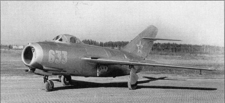 Истребитель МиГ-15бис №3306 производства завода №292.