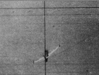 В кадре ФКП (сверху вниз): F-80, F-84, F-84 и F-86