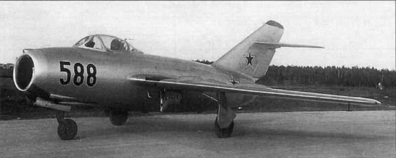 №125088 с бортовым номером, типичным для большинства серий МиГ-15бис завода № 1 .