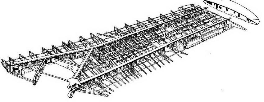 Конструкция набора крыла