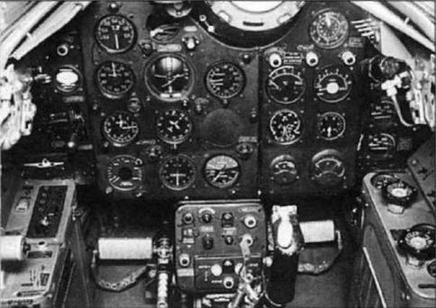 Установка прицела ПКИ-1 и размещение приборов в кабине самолета СП-1.