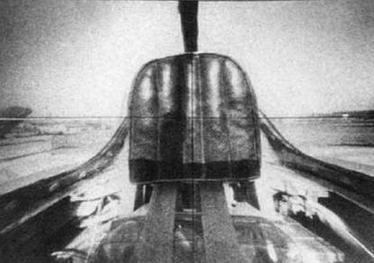 Обзор из кабины самолета-разведчика CP в переднюю и заднюю полусферы.