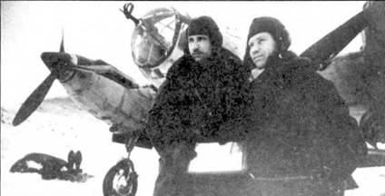 Ар-2 одного из авиаполков, действовавших в Заполярье, зима 1942/43г.г.