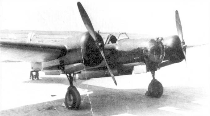 СБ 2 М-100А франкистких ВВС.
