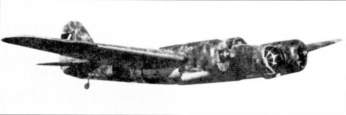 Испанский СБ-2М-100А в республиканском камуфляже.