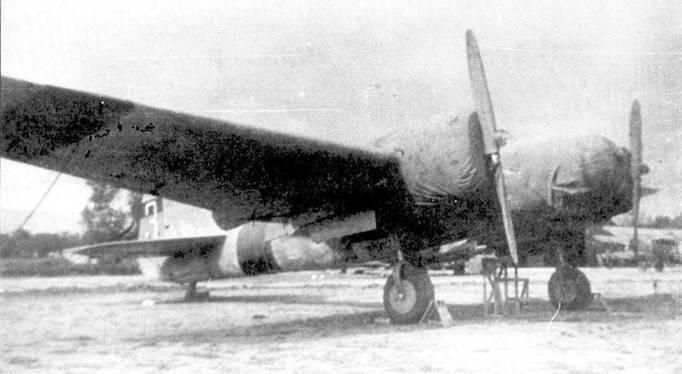 Бомбардировщик СБ-2М-100 республиканских ВВС