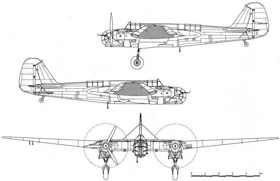 СБ-2М-103 выпуска 1939г.