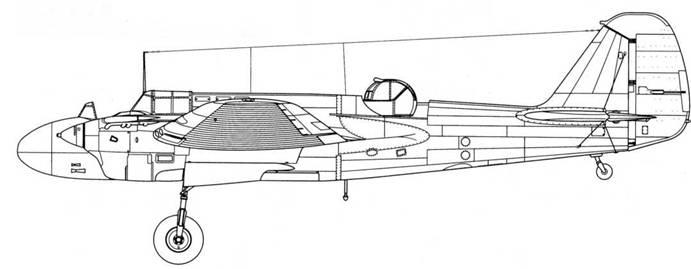 УСБ-2М-103 на базе самолета позднего выпуска