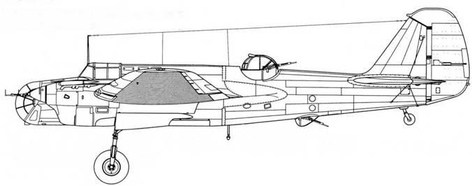 СБ-2М-103 позднего выпуска модифицированной люковой установкой