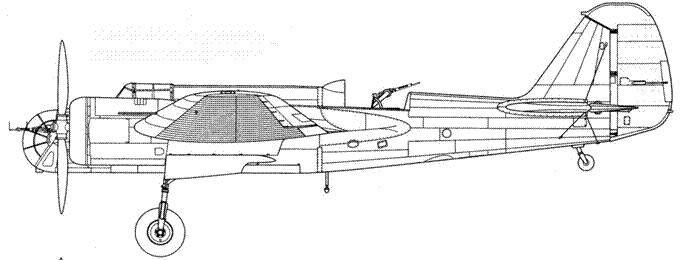 СБ-2М-100А «Катюшка» испанская модификация