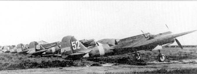 Трофейные СБ ни аэродроме в Севилье, апрель 1939г.