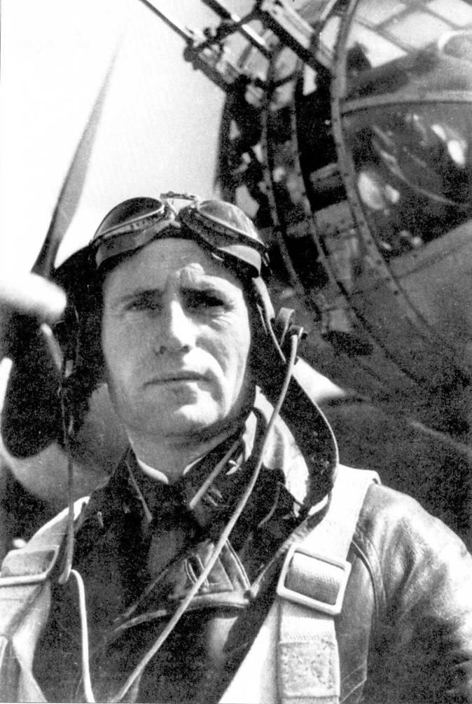 Командир 150-го СБАП майор Иван Полбин, 17.08.41.