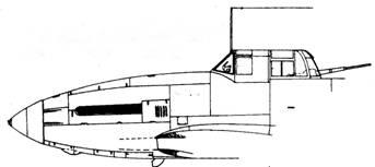 Фрагмент фююзеляжа самых первых серий Ил-10