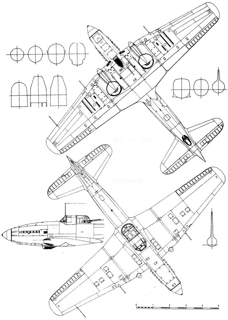 Ил-10 выпуска 1945г.