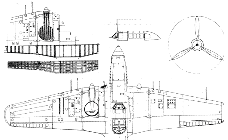 Кабина советского Ил-10У