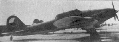 Ил-2 Тип 3 Чешских ВВС (известный в Чехословакии как Б-31) на стоянке чешской авиационной базы в конце 40-х годов. Самолет окрашен сверху темнозеленым, а снизу светло-голубым.