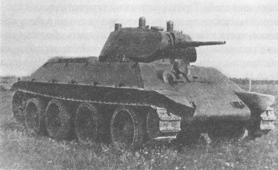 Танк А-20 на полигонных испытаниях. 1939 год
