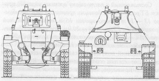 Сравнительные размеры танков БТ-7 и А-20