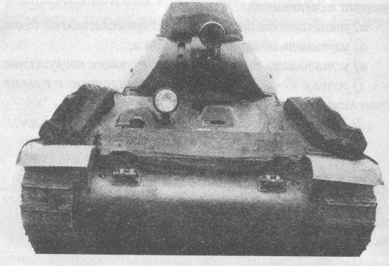 Второй опытный образец танка А-32, догруженный до 24 т. Заводские испытания, июль – август 1939 года