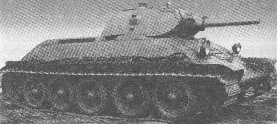 082 Серийный танк Т-34, вооружённый пушкой Л-11. Август 1940 года